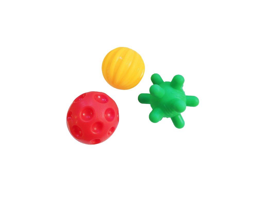 PROFIBABY - Stimulační balonky 3ks malé