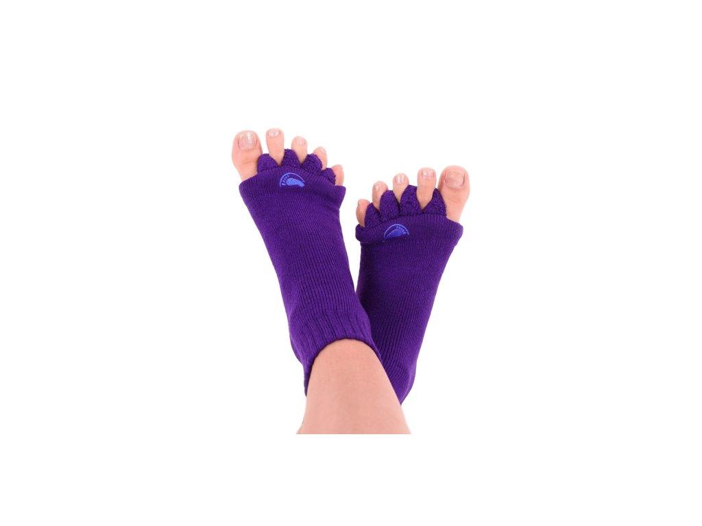Happy Feet Adjustační ponožky PURPLE