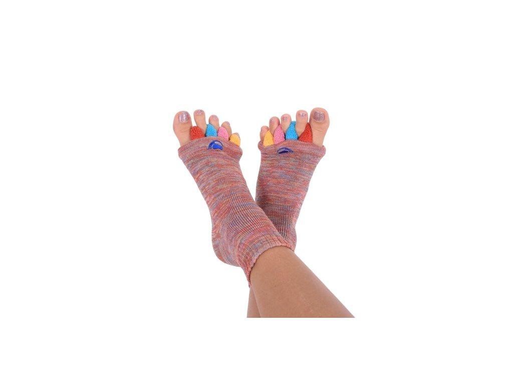 Happy Feet Adjustační ponožky MULTICOLOR