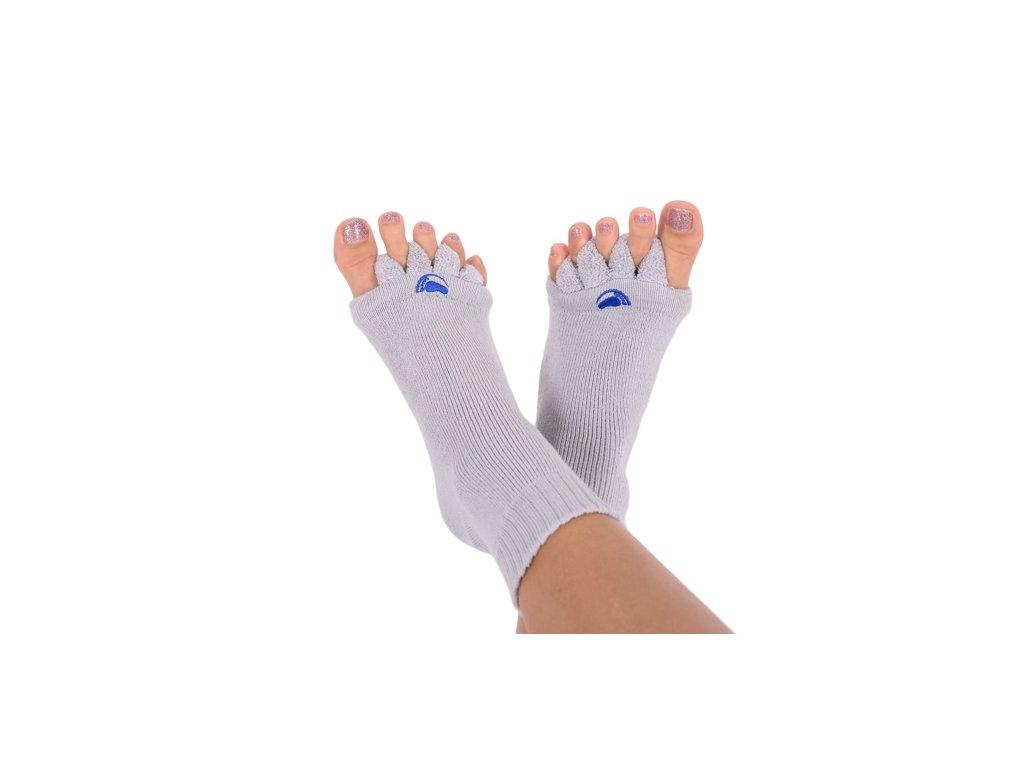 Happy Feet Adjustační ponožky GREY