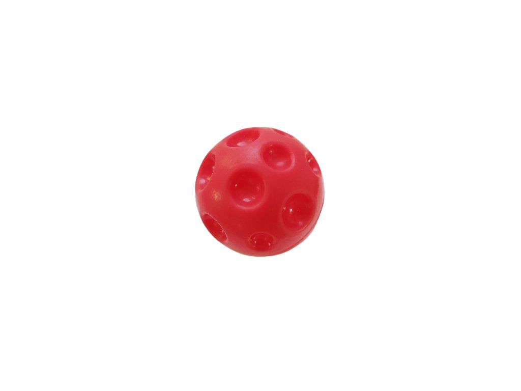 Stimulační balonek červený (s důlky) - malý