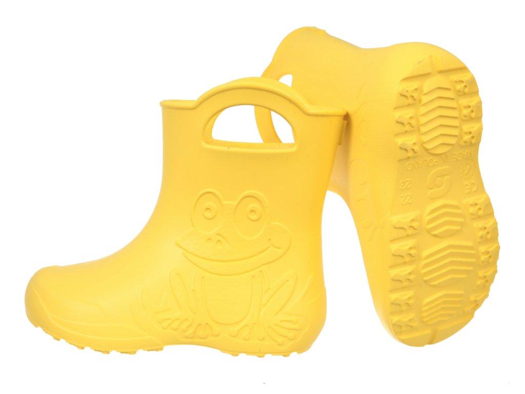 HOLÍNKY CAMMINARE ŽABKA žluté