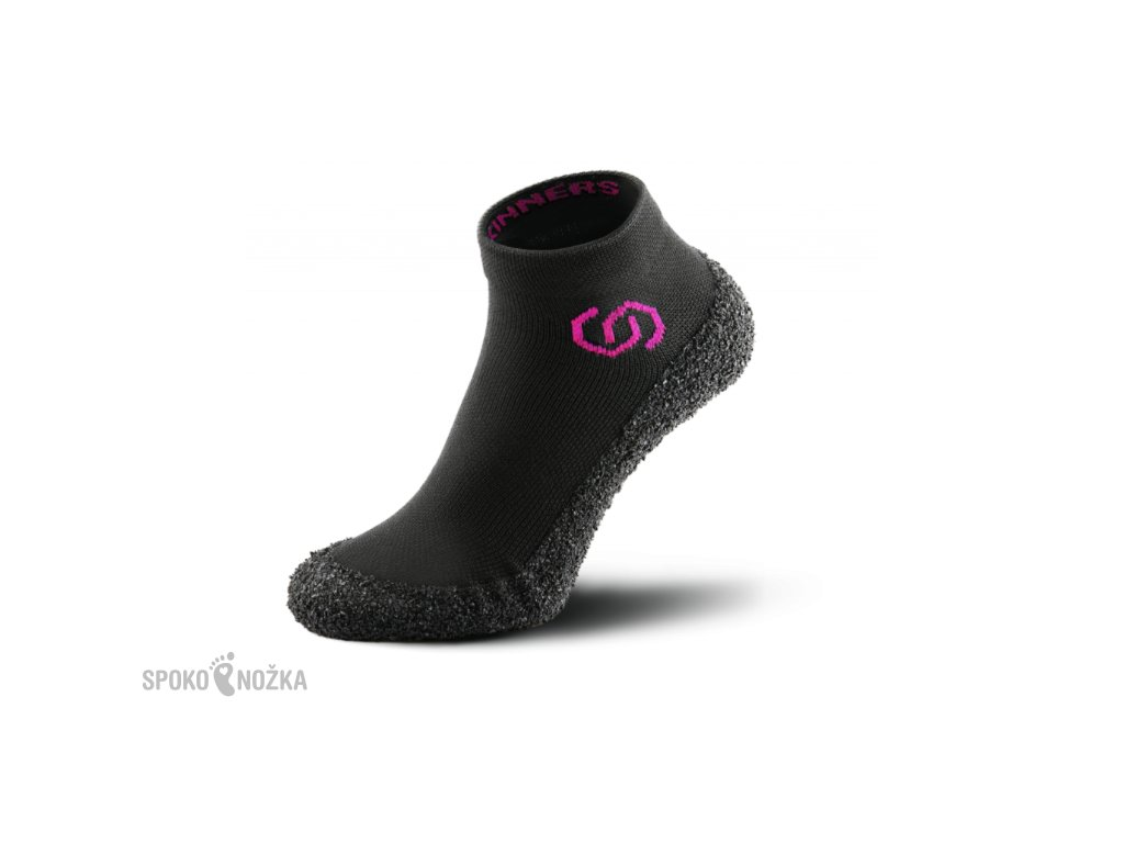 SKINNERS ADULTS - BLACK/PINK