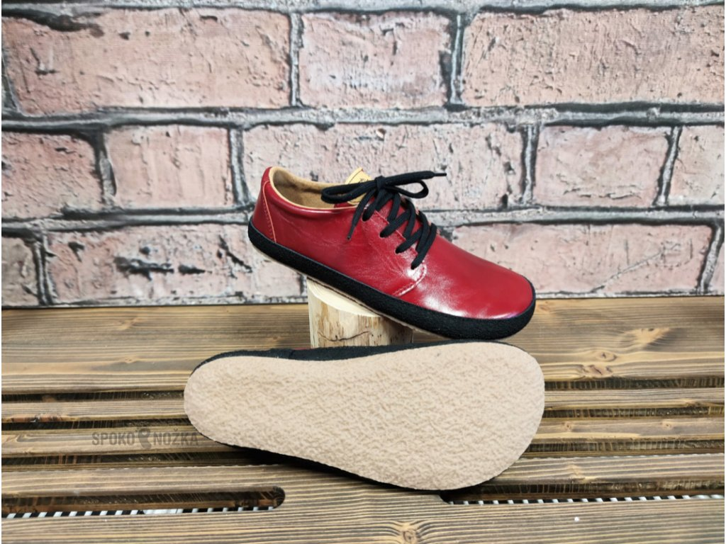 Barefoot Pegres BF71 červená