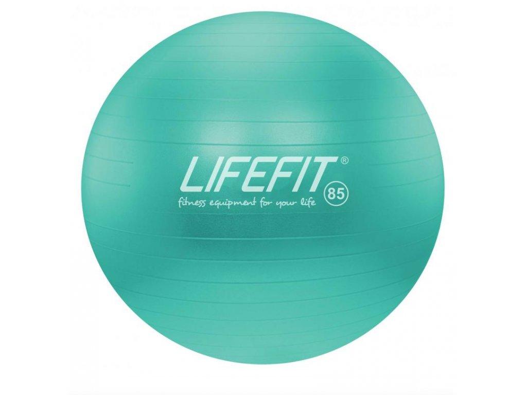 LIFEFIT - Gymnastický míč ANTI-BURST 85 cm, tyrkysový