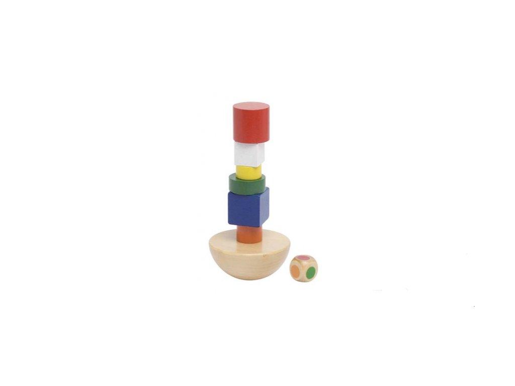 Dovednostní hra – Balanční věž