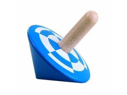 DETOA dřevěná káča modrá