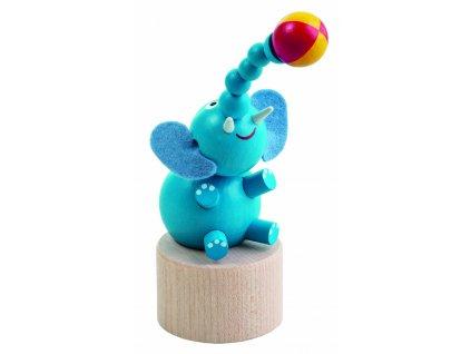 DETOA dřevěný slon