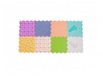 Set ortopedických podlah ORTODON Univerzální pastelový 8 kusů