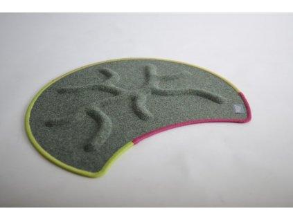 Kořenový koberec RootyRUG Fit Be Happy (mechová zelená)