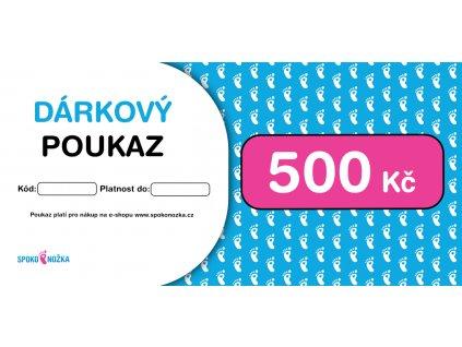 Poukaz 500Kc Spokonozka