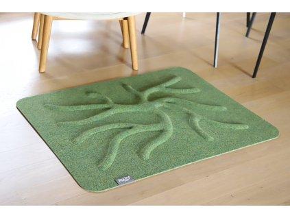 rooty limetkově zelená