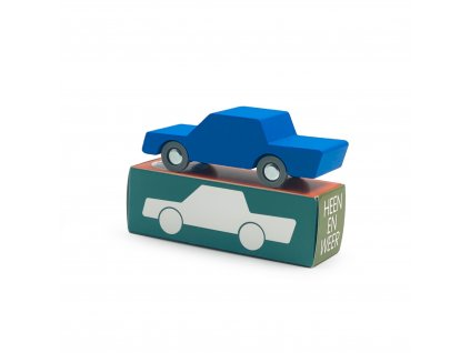Way To Play Back and Forth car Blue box