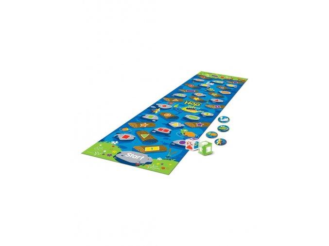 krokodyle hop hra na podlahu