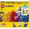 LEGO - Průhledné kreativní kostky LEGO Classic