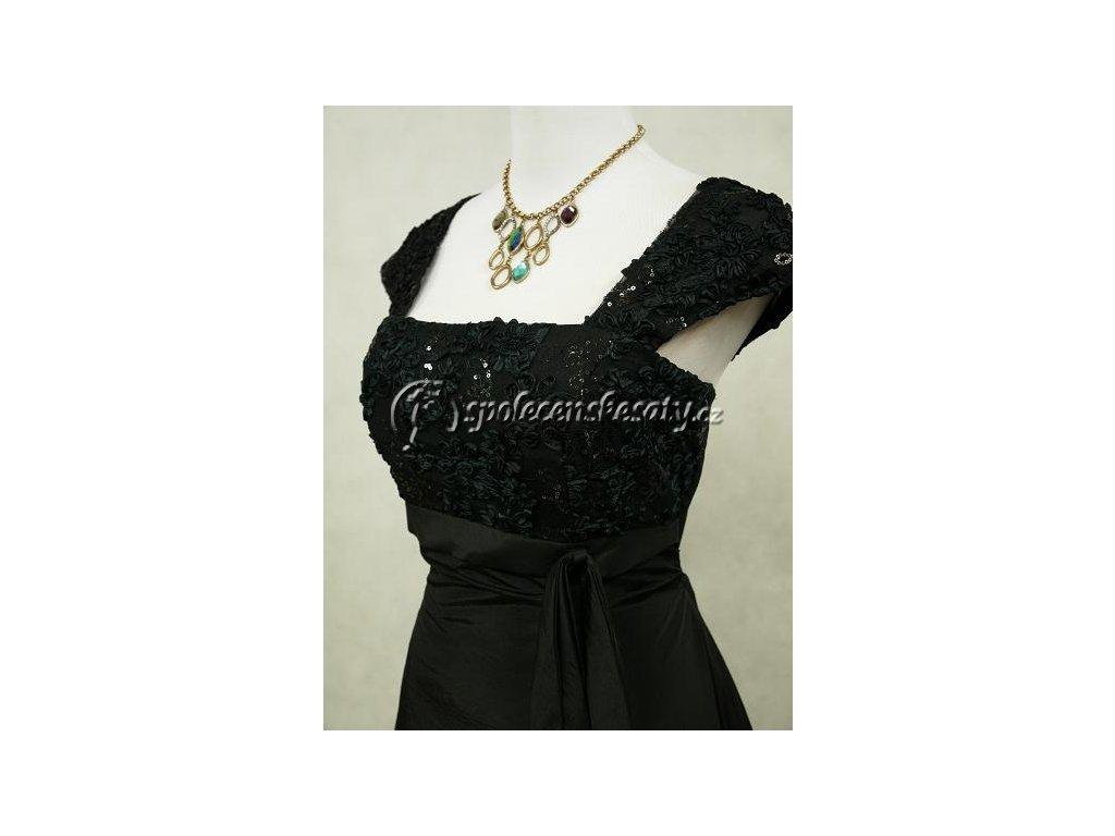 31cfa5a044ee Černé společenské šaty zeštíhlující na ples vel. 38-42 - www ...