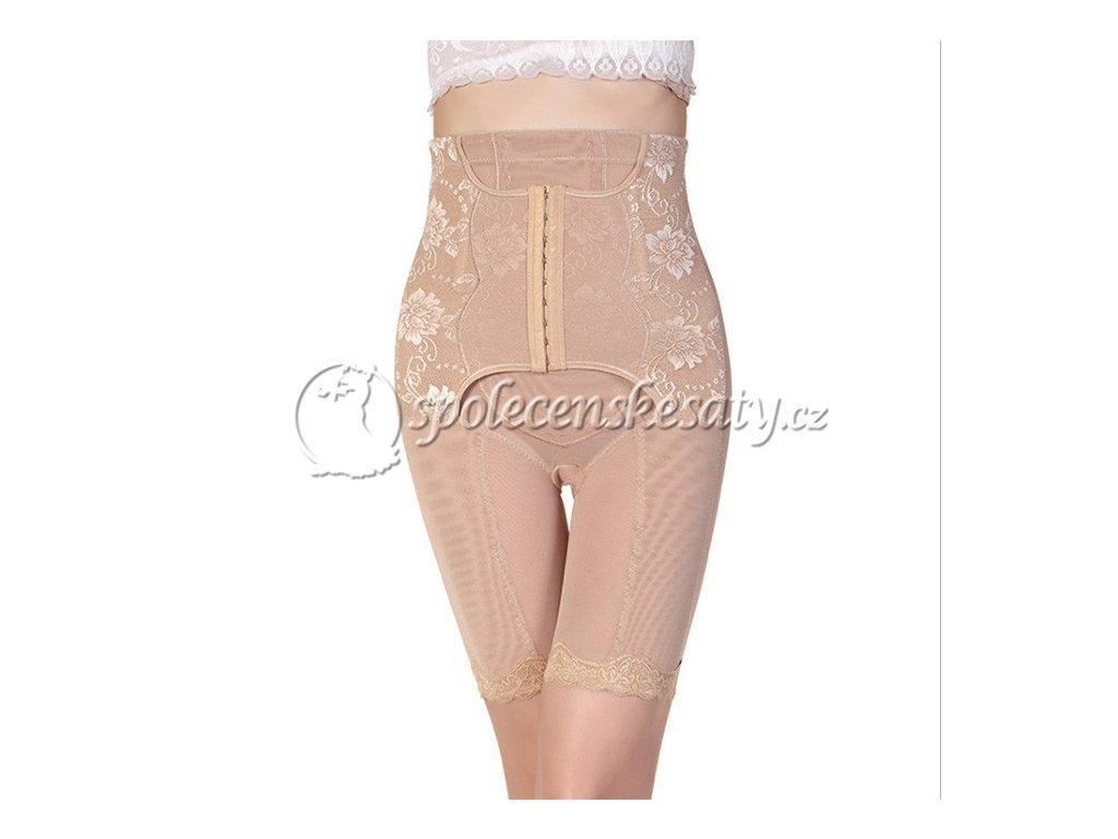 Béžové tělové luxusní spodní prádlo s korzetem univerzální velikost ... 6980664266