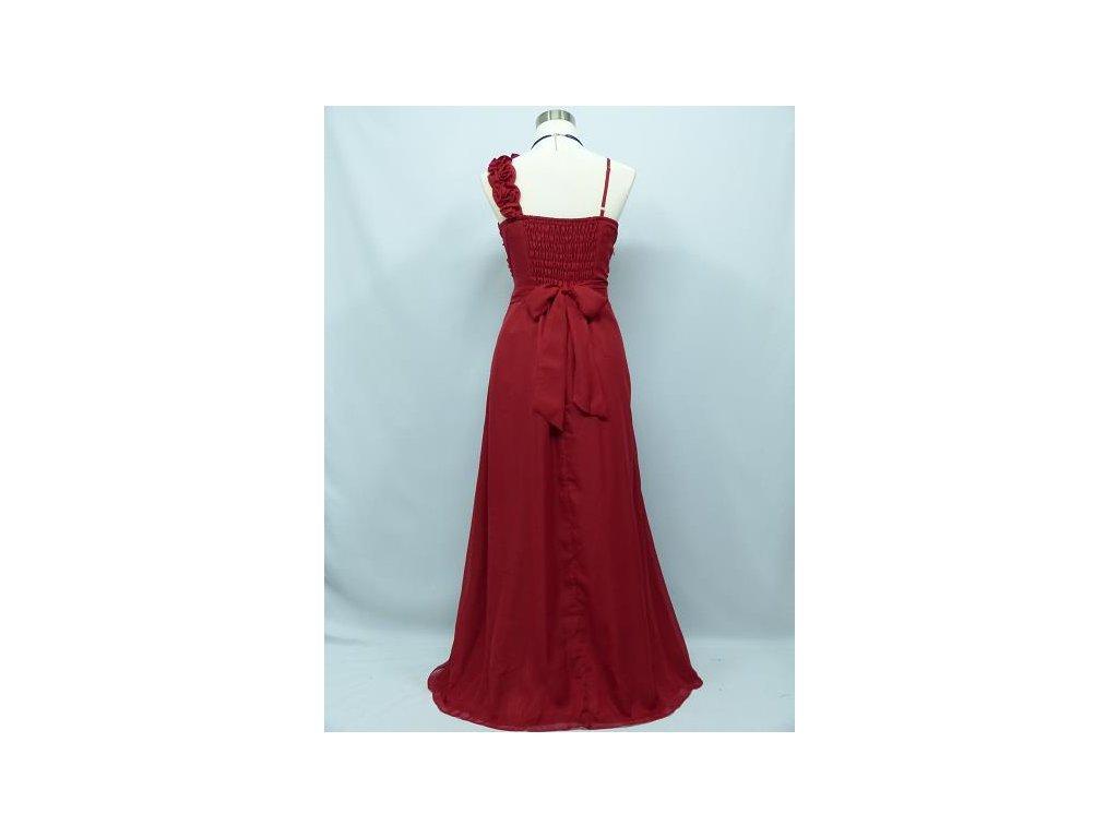 9afdf40ed79f ... Červené dlouhé společenské šaty antického střihu pro těhotné a  plnoštíhlé C2396 4