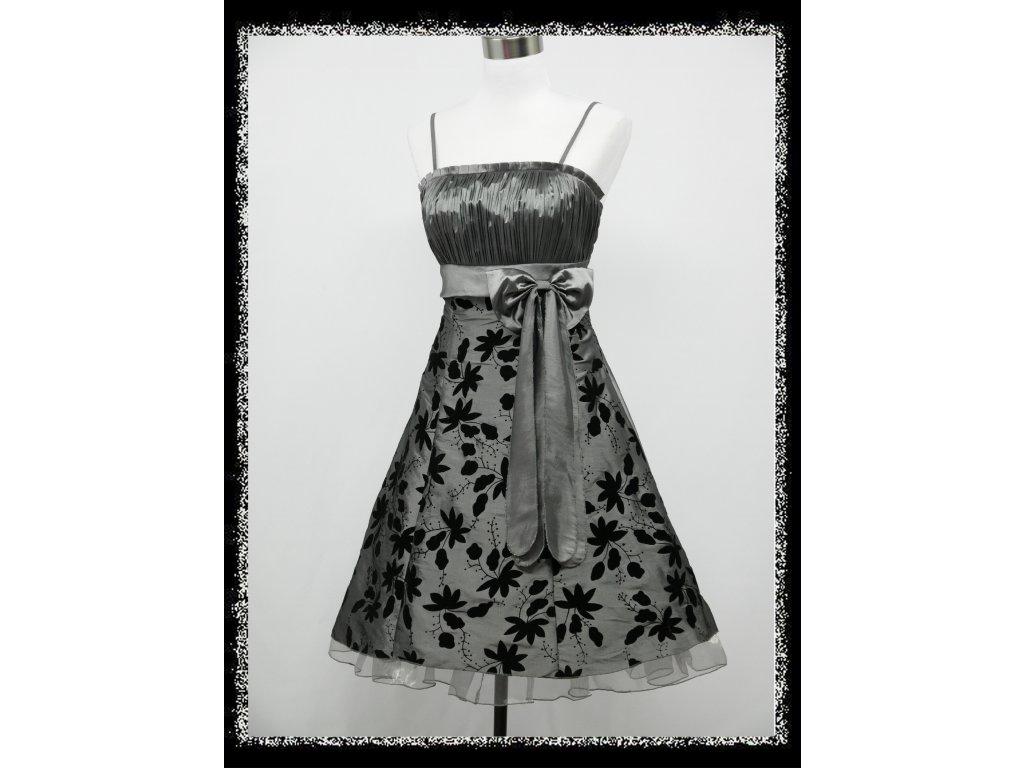 0701840baf89 Stříbrné krátké plesové šaty retro DR0072b Stříbrné krátké plesové šaty  retro DR0072c ...