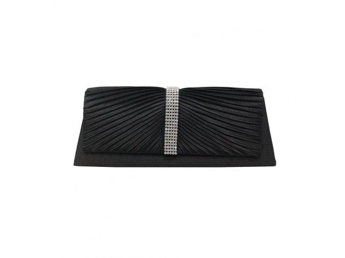 Černá luxusní mini kabelka psaníčko na ples do společnosti do tanečních na svatbu