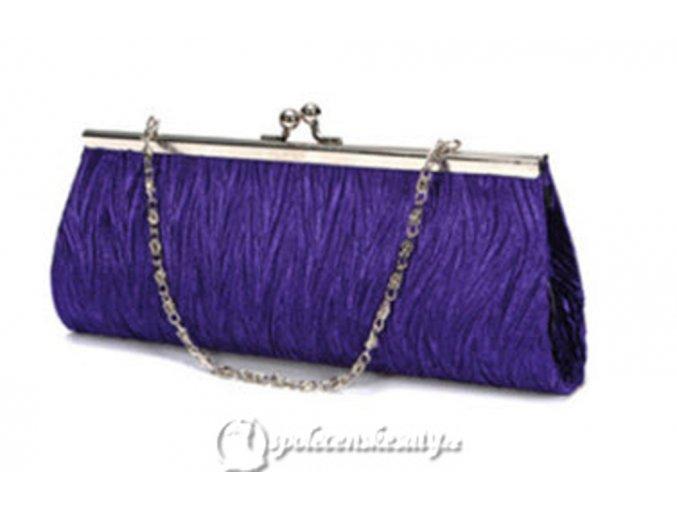kabelka pasnicko fialova jednoducha na klip k10 1