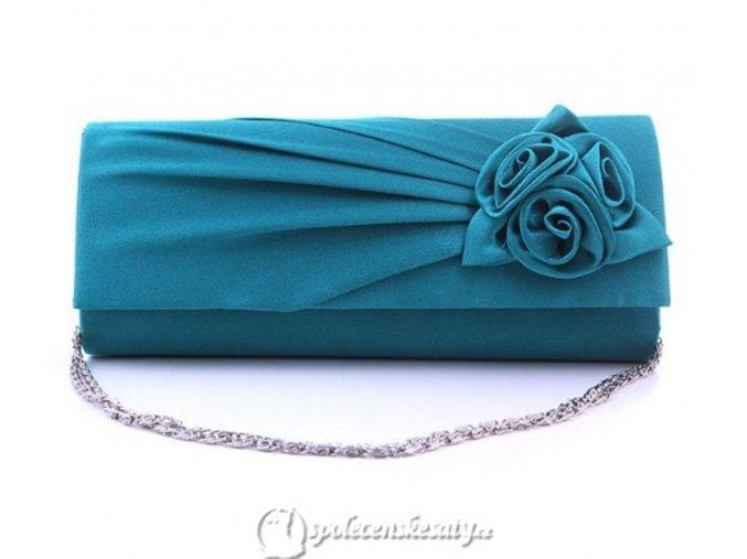 kabelka psanicko modrozelena k54