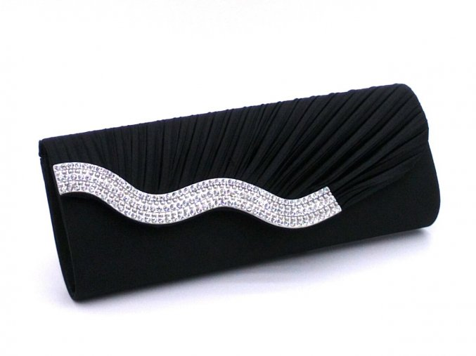 kabelka pasnicko cerna s vlnovkou strasovou k55