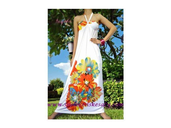 Letní maxi šaty vel. M č. 7005