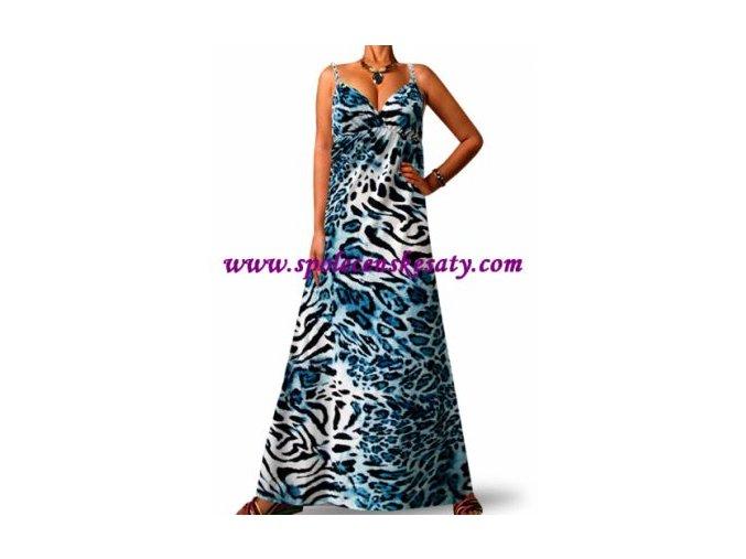 Letní maxi šaty vel. S č. 7003
