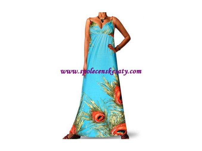 Letní maxi šaty vel. L č. 7002