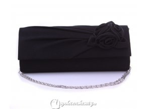kabelka psanicko cerna s ruzickami k34