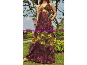 Letní maxi šaty č. 7004