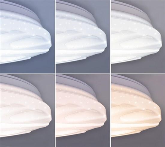 Novinka v sortimentu - CCT svítidla WAVE - změna barvy a intenzity