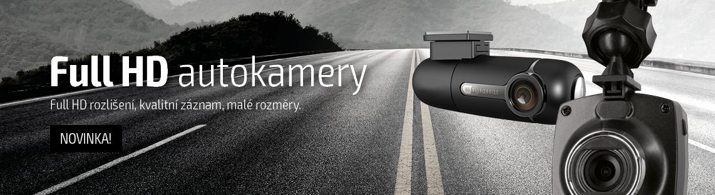Full HD kamera do auta, kvalitní záznam, malá velikost za zrcátko