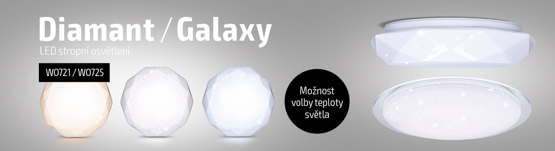 Solight - LED svítidla Diamant & Galaxy