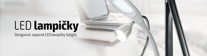 Lampičky - Vyberte si správné světlo na pracovní stůl.