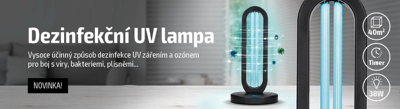 Germicidní UV lampa skladem od 10.10.2020!