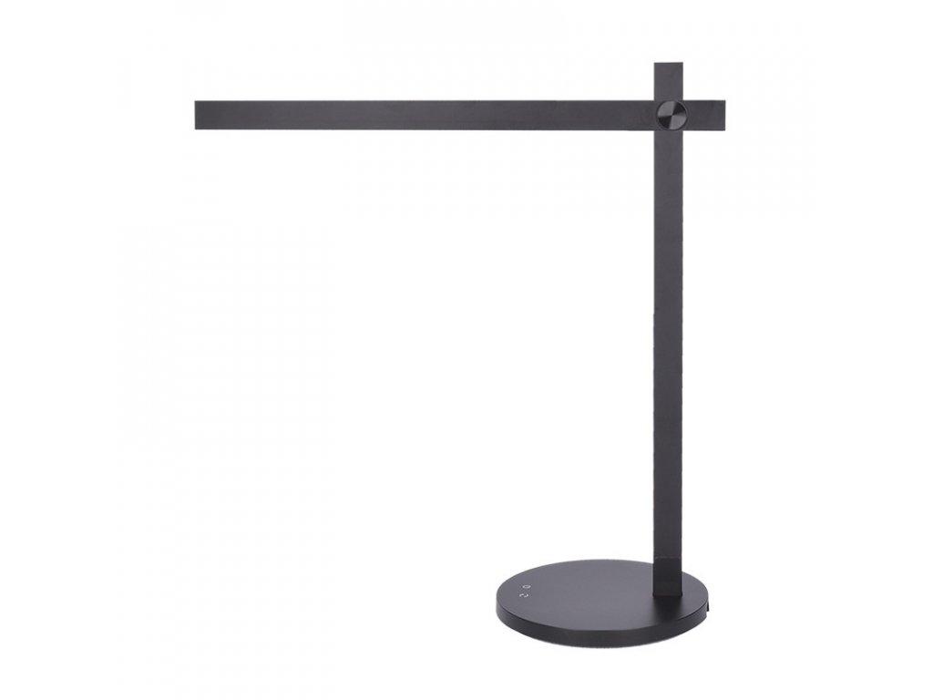 LED stmívatelná lampička - 8W, 420lm, CCT - volitelná barva světla, černá - Solight (WO56-B)