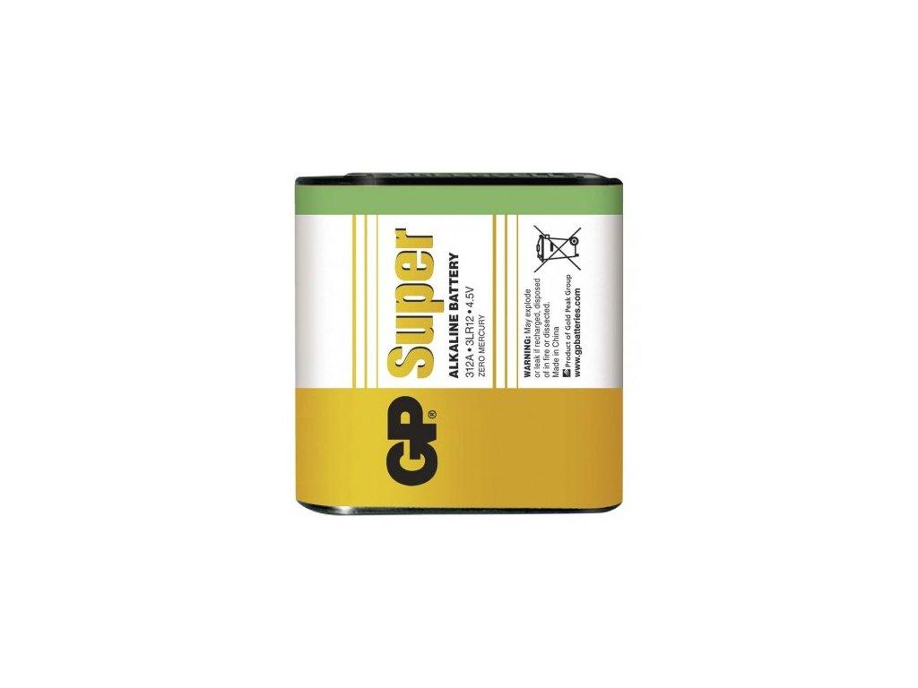 Alkalická baterie GP Super 3LR12 (4,5V) fólie