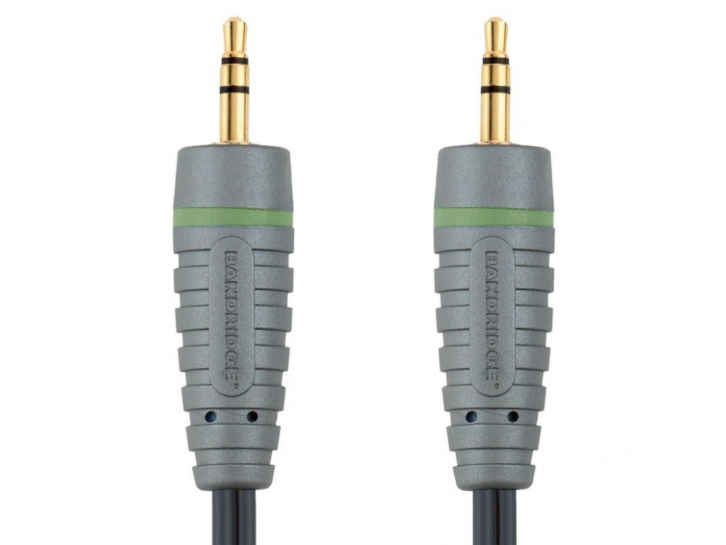 Bandridge audio kabel pro přenosná zařízení, 2m, BAL3302