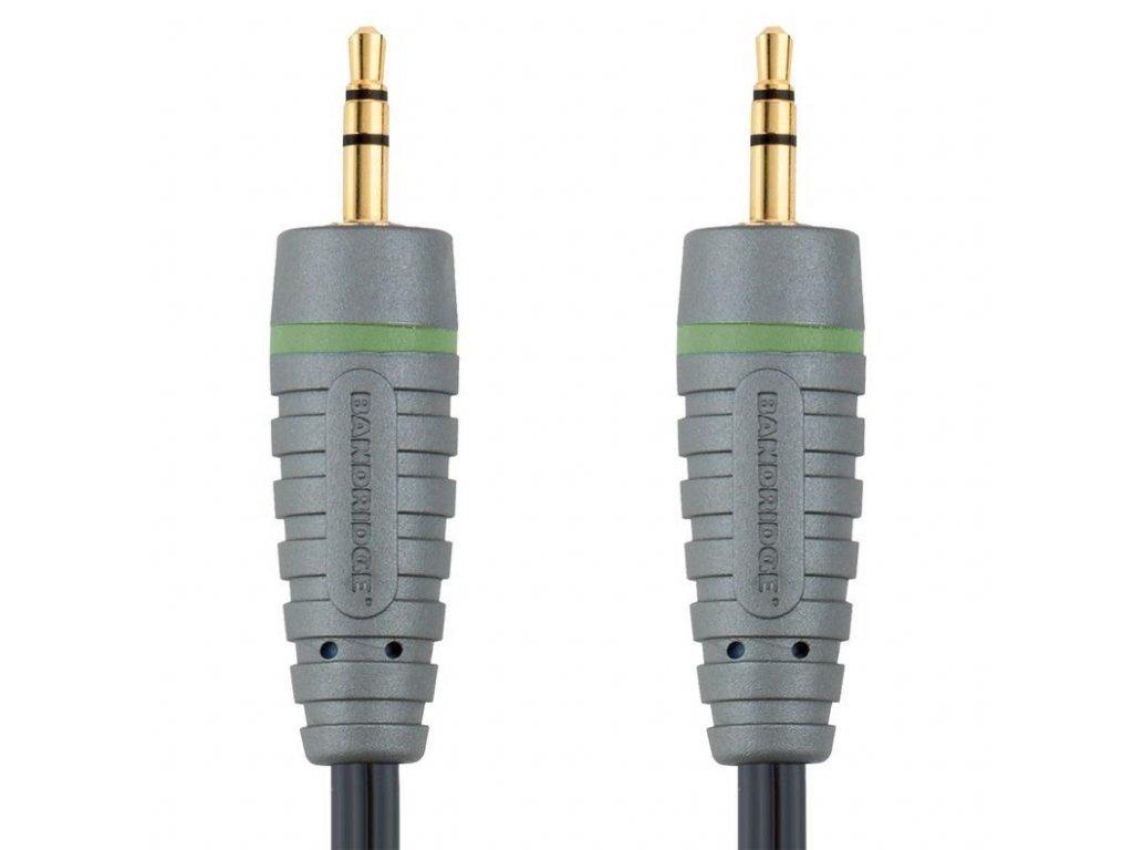 Bandridge audio kabel pro přenosná zařízení, 5m, BAL3305