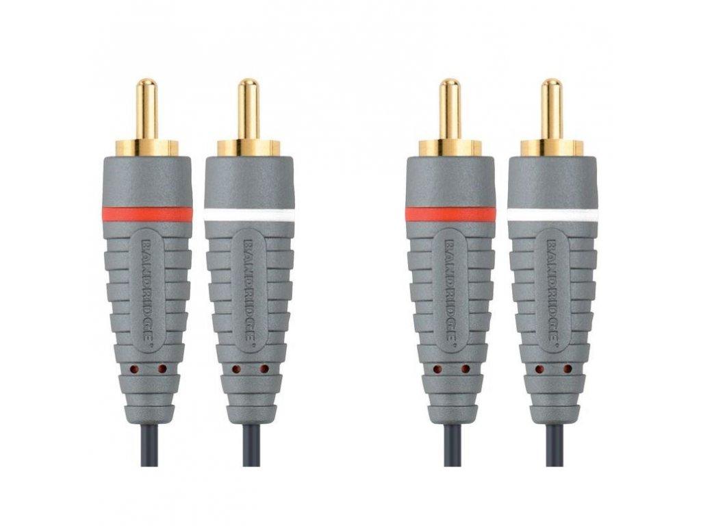 Bandridge audio kabel stereo, 2m, BAL4202