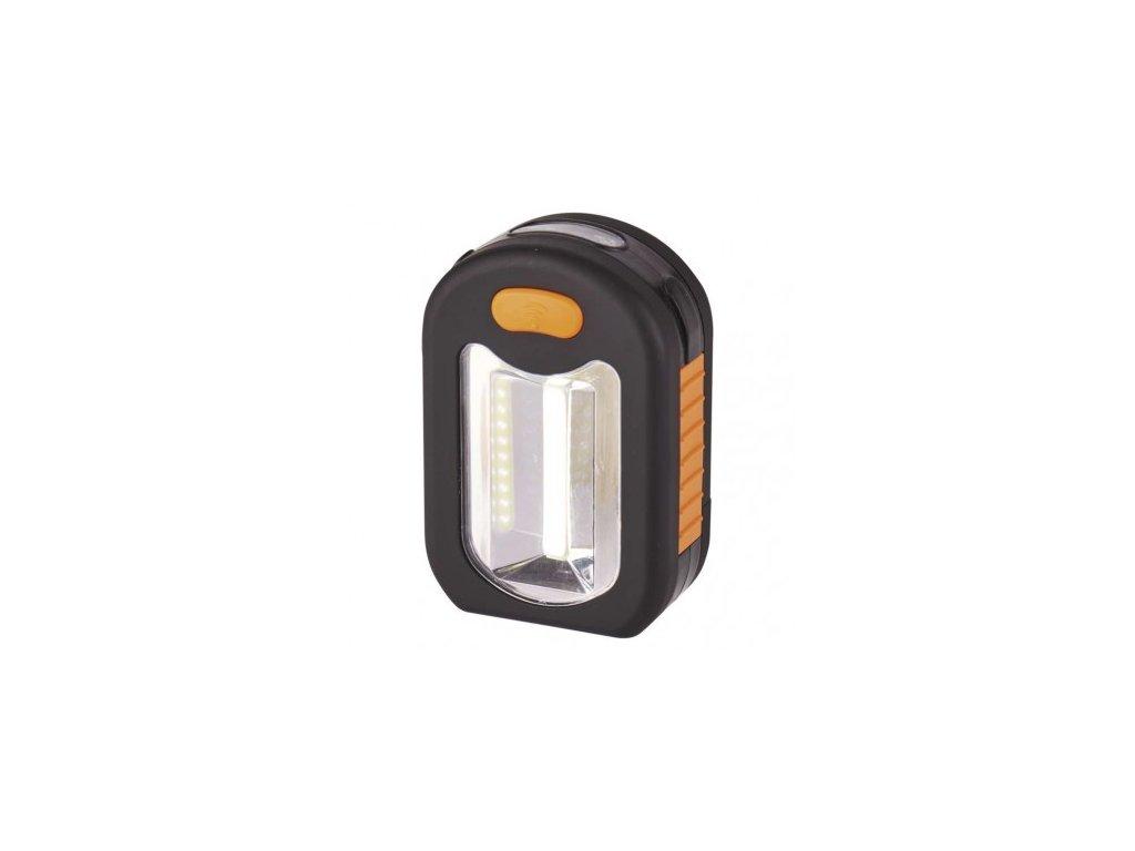 LED svítilna plastová, 3 COB LED, na 3x AAA, 12 ks - Emos (P3889)
