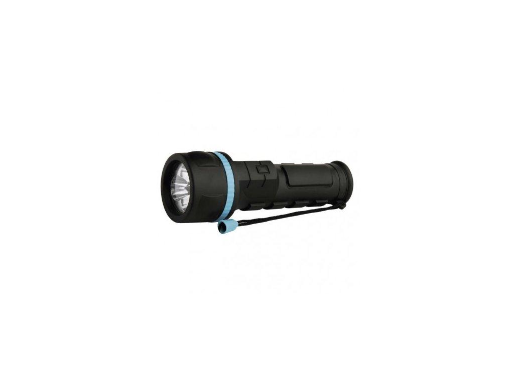 LED svítilna plastová, 3x LED, na 2x D - Emos (P3862)