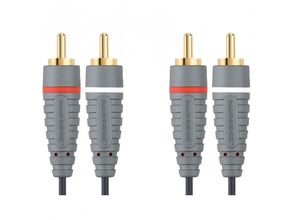 Bandridge audio kabel stereo, 5m, BAL4205
