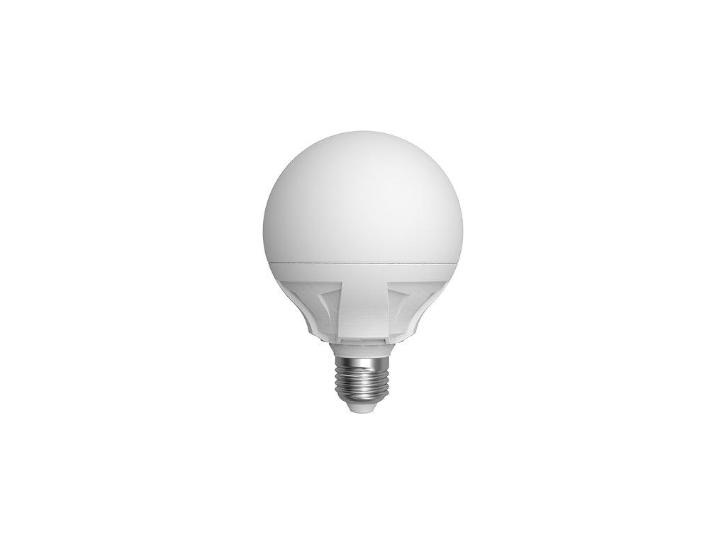 LED žárovka globe 15W E27 6400K CW SKYLIGHTING (G95-2715F)