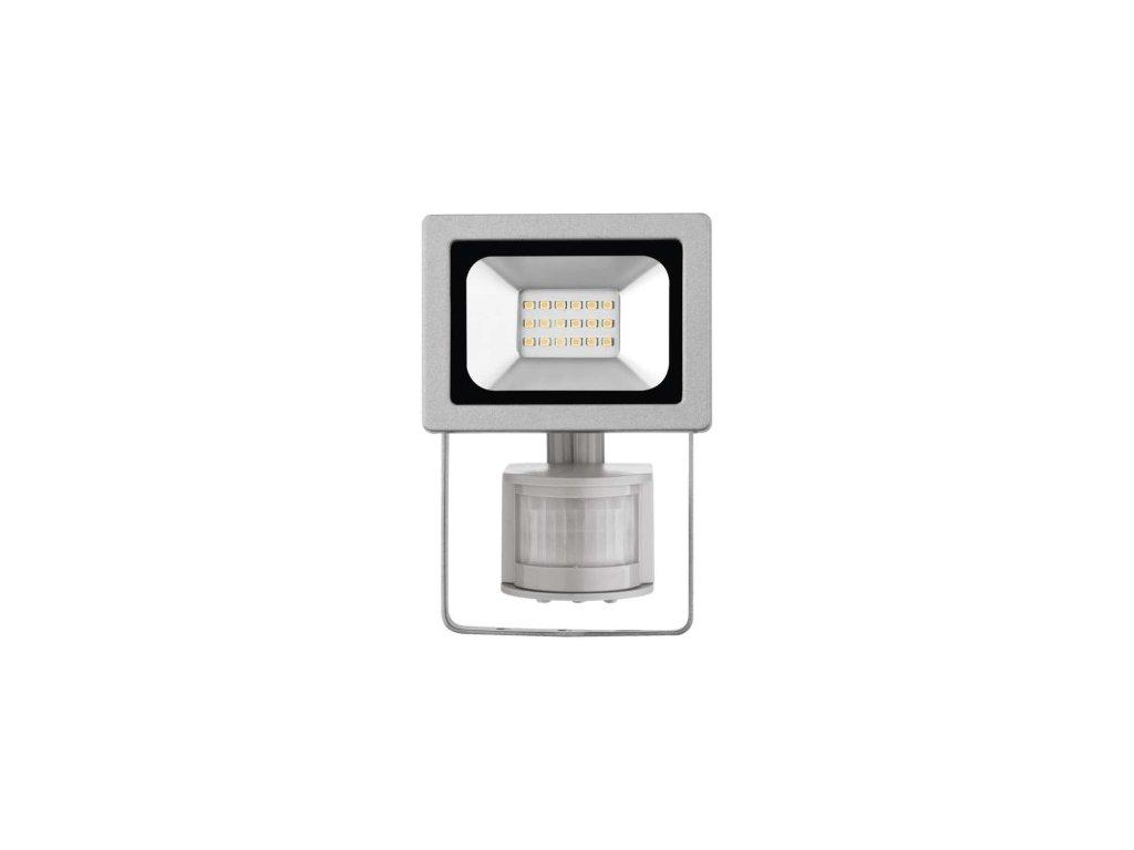 LED reflektor PROFI s PIR, 10W neutrální bílá