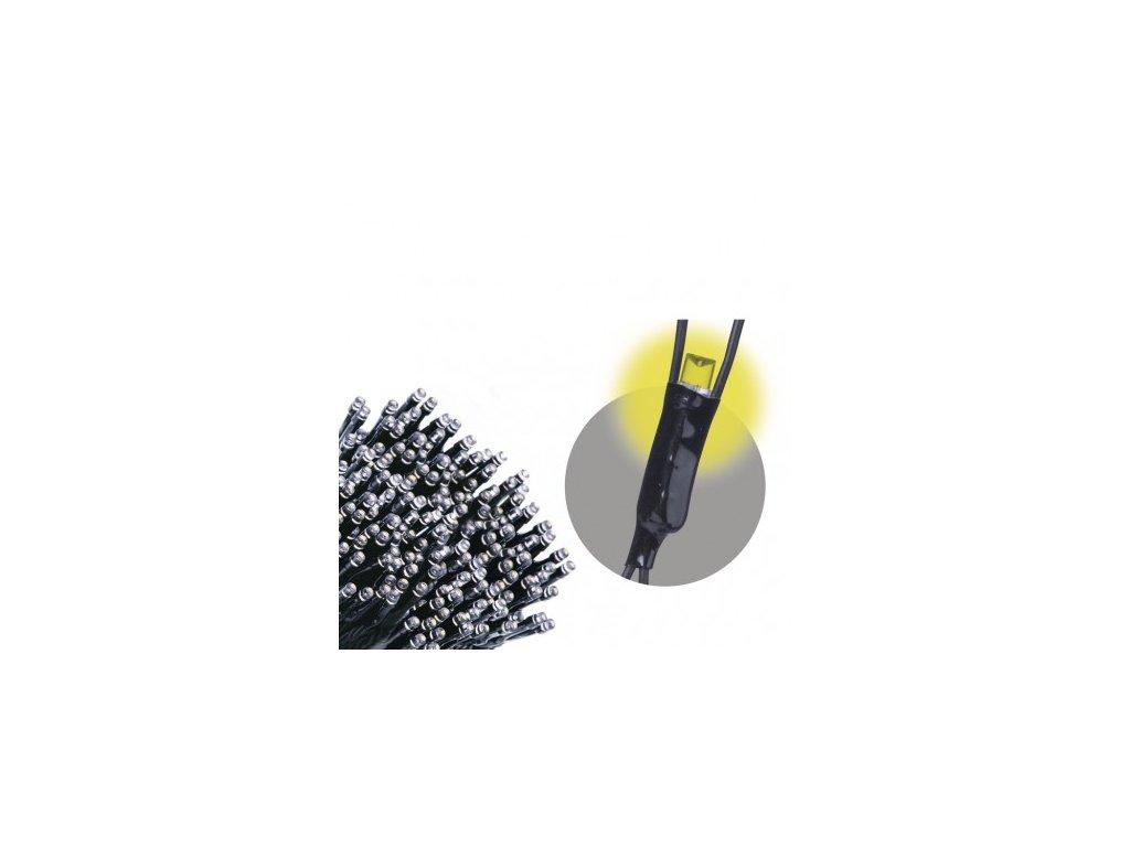 Spojovací LED řetěz - síť - 160xLED, 2x1,5 metru, IP44, teplá bílá - Emos (ZY1443)