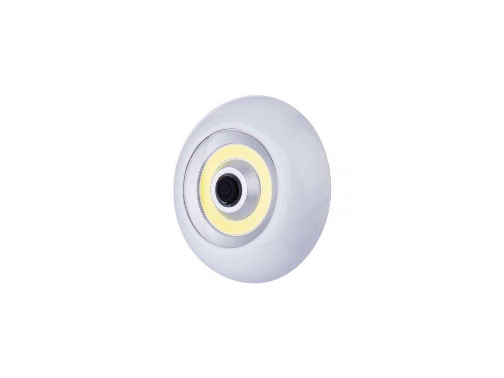 LED svítilna plastová, 3W COB LED, na 3x AAA - Emos (P3896)