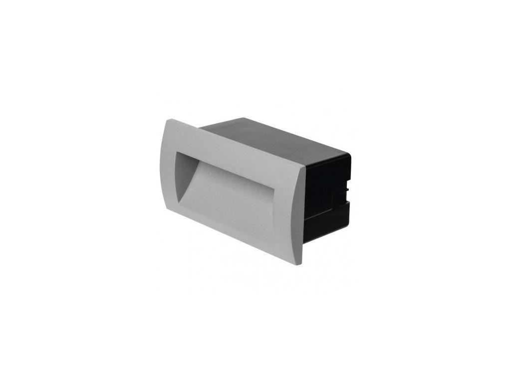 LED orientační vestavné svítidlo - 3W, 90lm, WW, 140x70mm, IP65 - Emos (ZC0106)